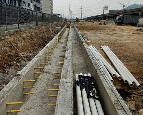 pvc给水管厂家施工案例