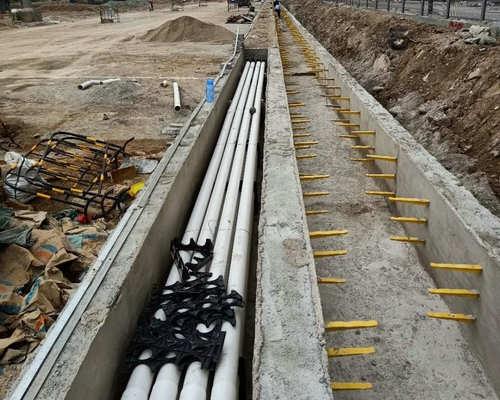 pvc给水管施工铺设